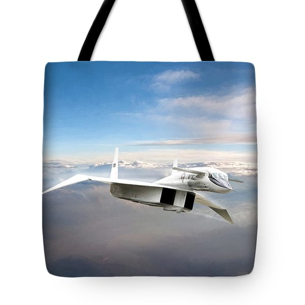 Great White Hope Xb-70 Tote Bag by Peter Chilelli