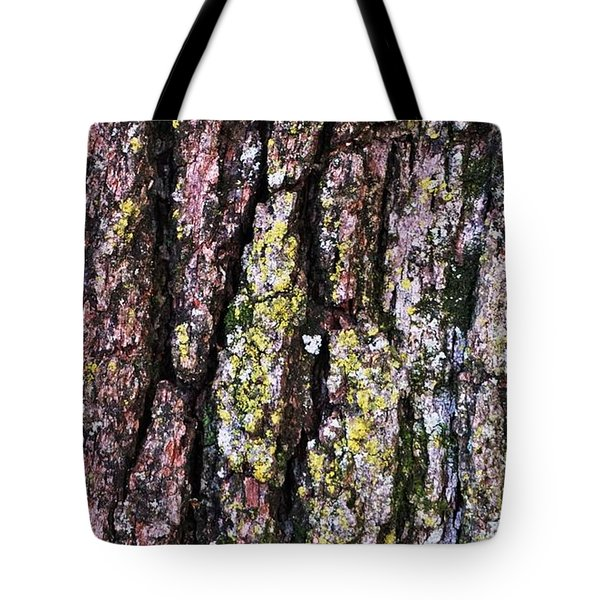 Great White Oak Bark Tote Bag