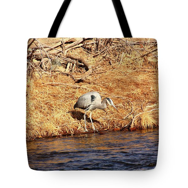 Greatblueheron1 Tote Bag