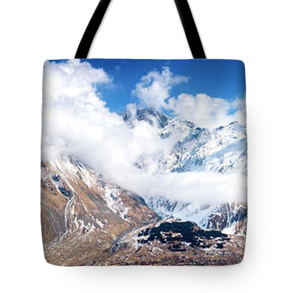 Tote Bag featuring the photograph Greater Caucasus by Fabrizio Troiani