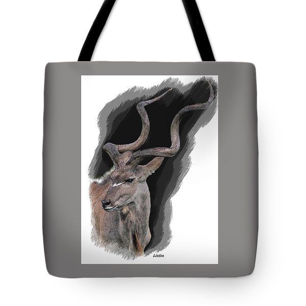 Greater Kudu Tote Bag