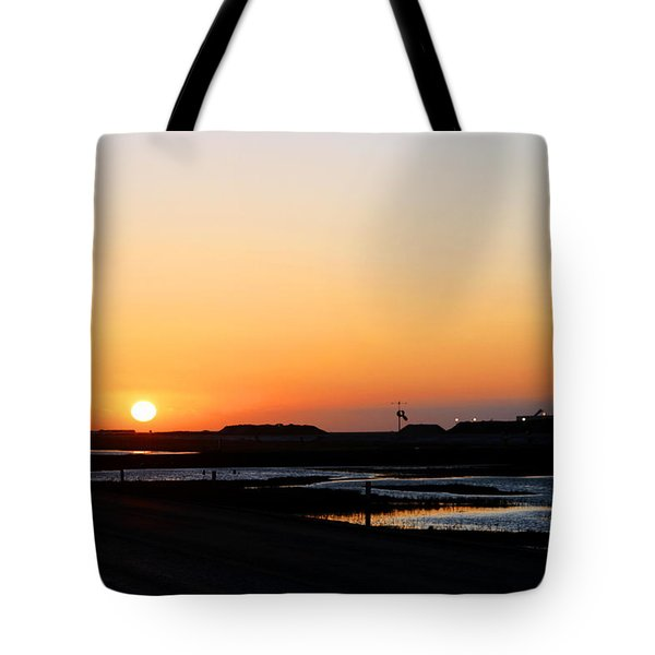 Greater Prudhoe Bay Sunrise Tote Bag