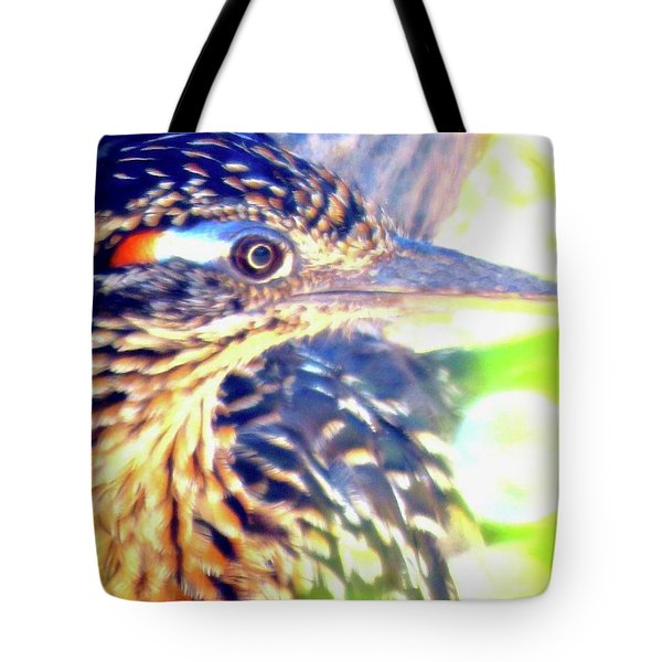 Greater Roadrunner Portrait 2 Tote Bag
