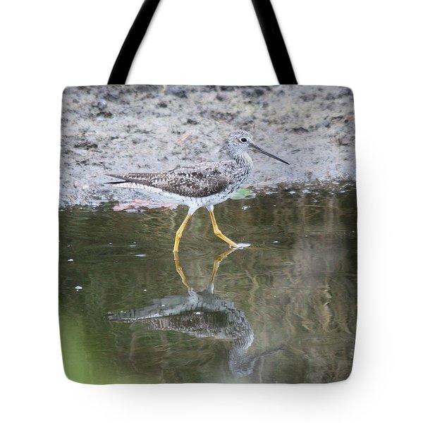 Greater Yellowleg Tote Bag