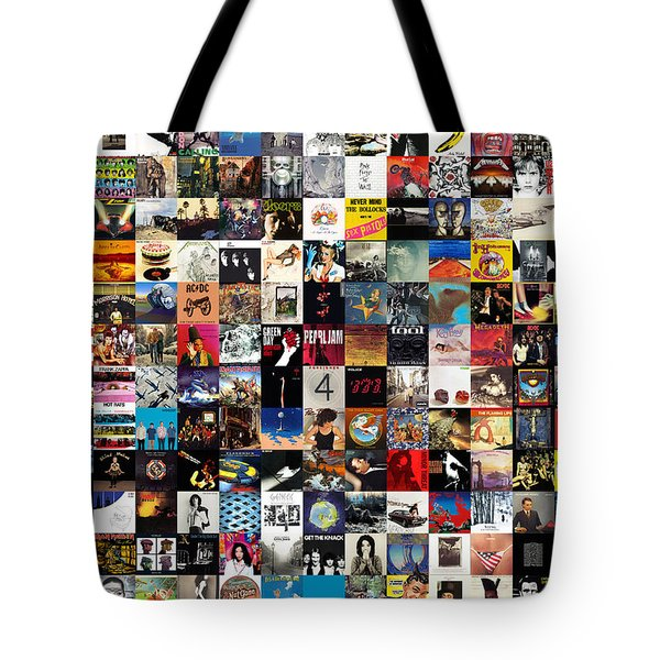 Greatest Album Covers Of All Time Tote Bag by Taylan Apukovska