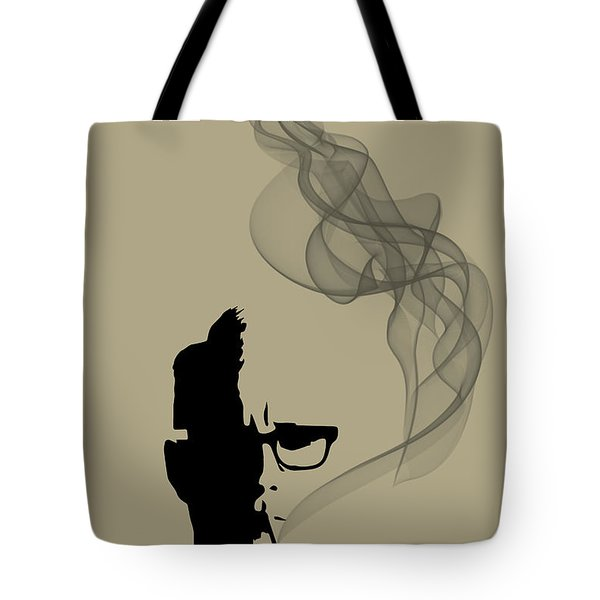 Greatest Job In The World - Mad Men Poster Roger Sterling Quote Tote Bag
