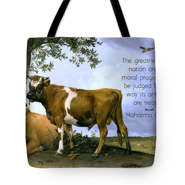 Greatness Of A Nation Tote Bag