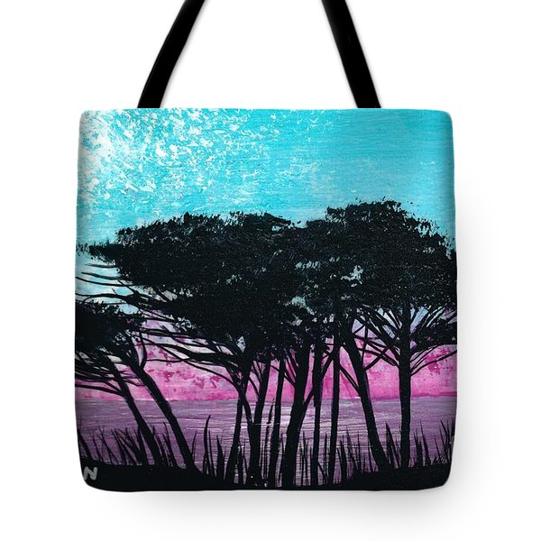 Grecian Sunset Tote Bag
