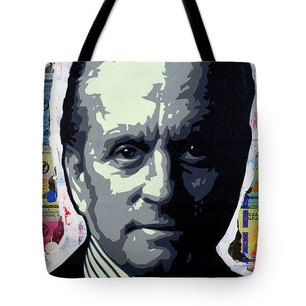Greed Is Good Tote Bag