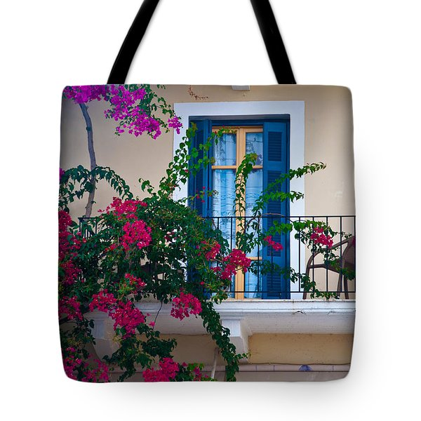 Tote Bag featuring the photograph Greek Beauty by Rob Hemphill