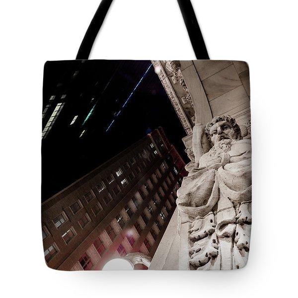 Greek God Tote Bag