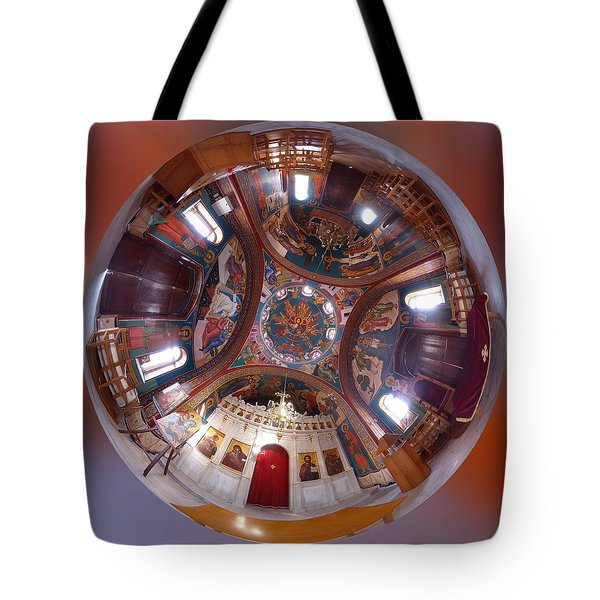 Greek Orthodox Church Interior Tote Bag
