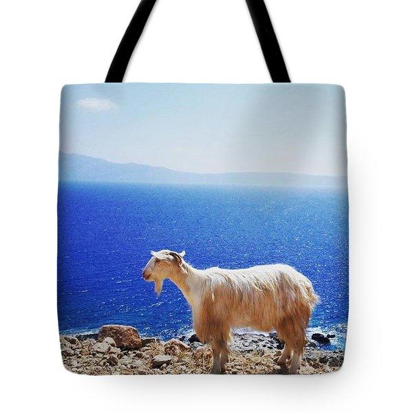 Greek Style Tote Bag