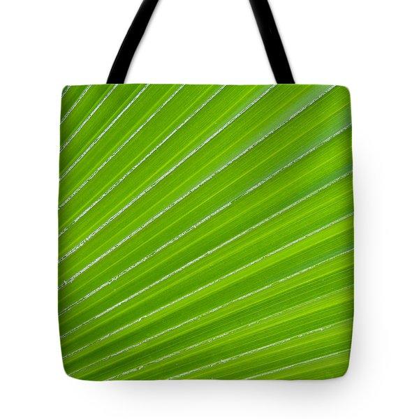 Green Abstract No. 1 Tote Bag