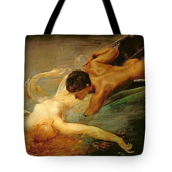 Green Abyss Tote Bag