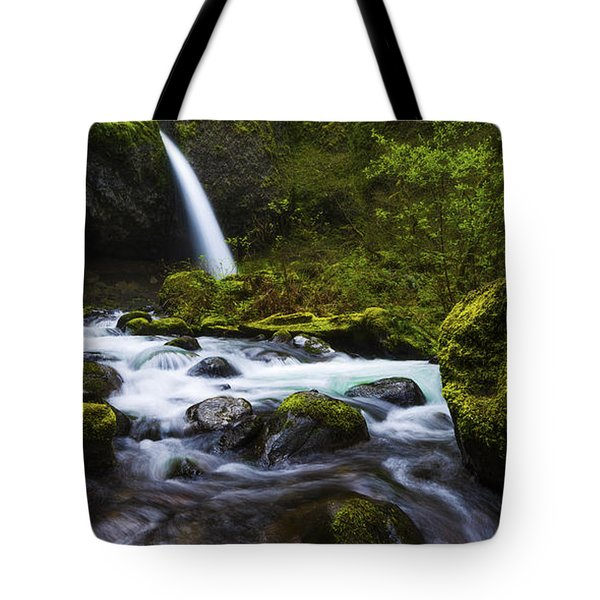 Green Avenue Tote Bag