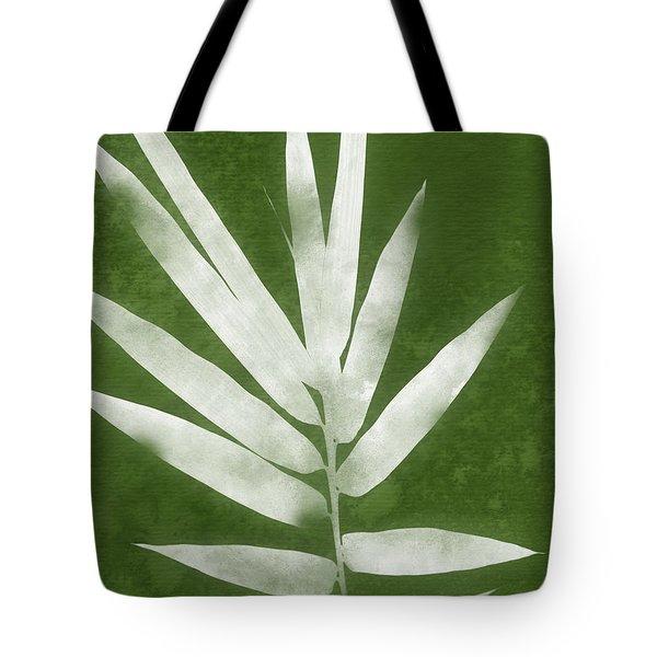 Green Bamboo 2- Art By Linda Woods Tote Bag