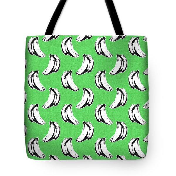 Green Bananas- Art By Linda Woods Tote Bag