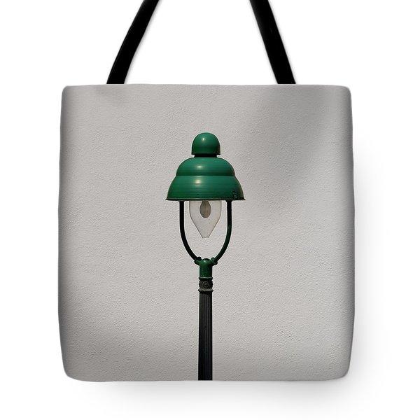 Green Bavarian Lamp Tote Bag