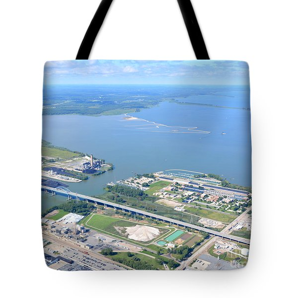Tote Bag featuring the photograph Green Bay To Bay by Bill Lang
