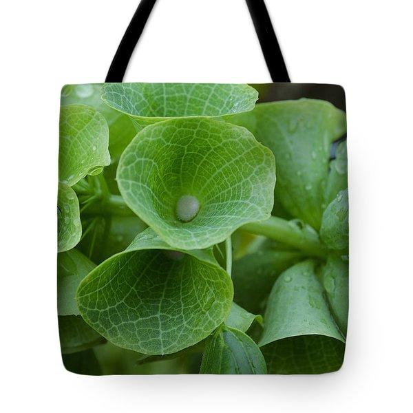 Green Bells Tote Bag