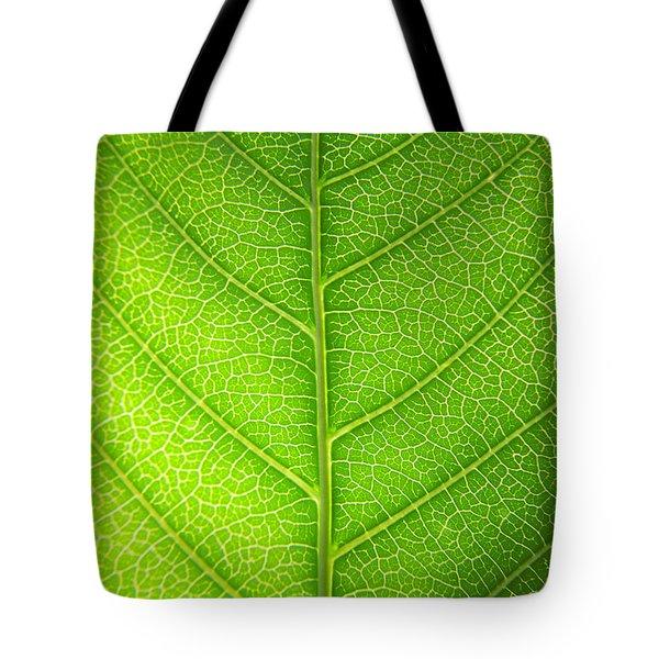 Green Botany -  Part 3 Of 3 Tote Bag