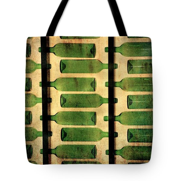 Green Bottles Tote Bag
