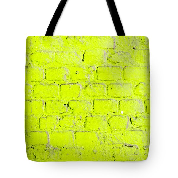 Green Brick Wall Tote Bag