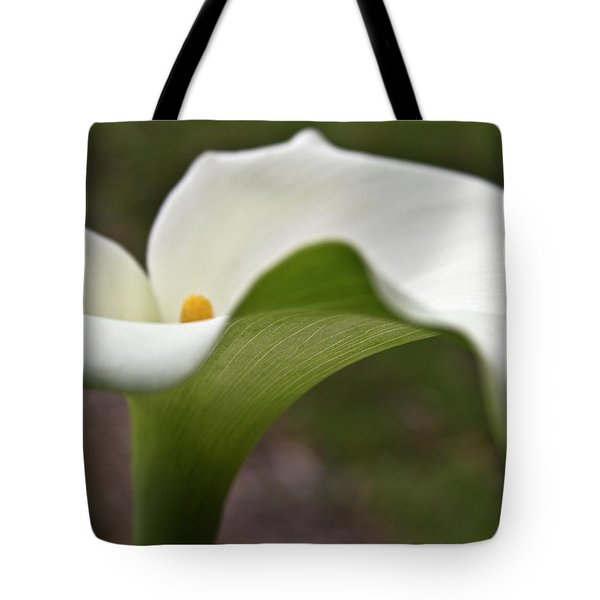 Green Calla Tote Bag by Heiko Koehrer-Wagner