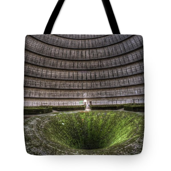 Green Center Tote Bag