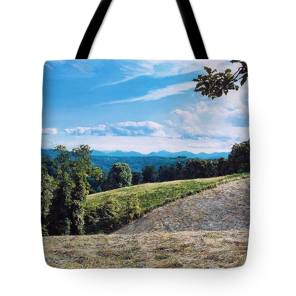 Green Country Tote Bag by Joshua Martin