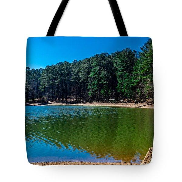 Green Cove Tote Bag
