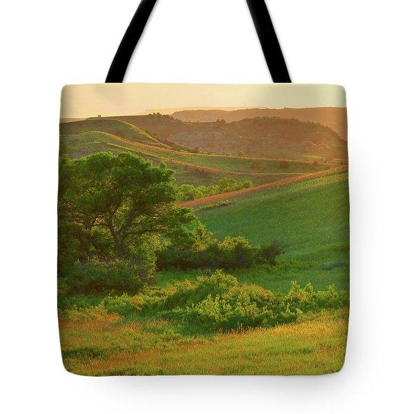 Green Dakota Dream Tote Bag