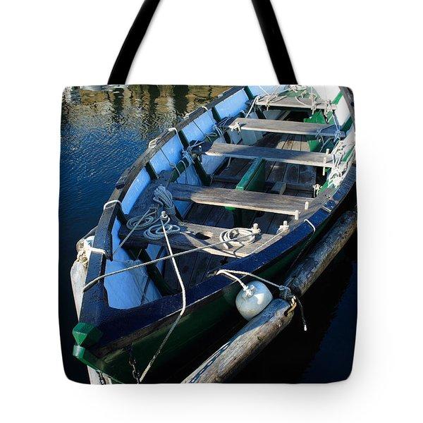 Green Dory Tote Bag