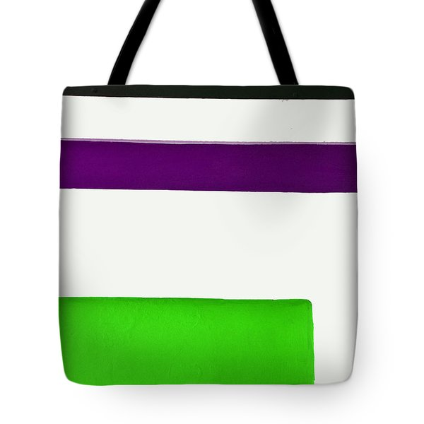 Green Down Below Tote Bag