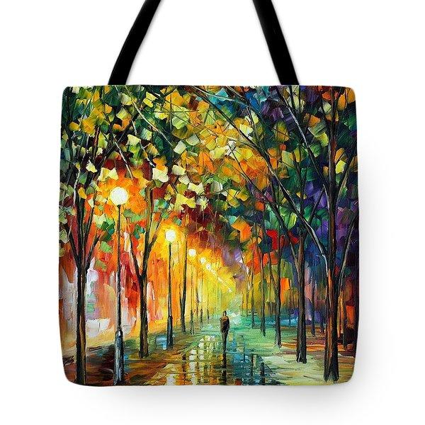 Green Dreams Tote Bag by Leonid Afremov