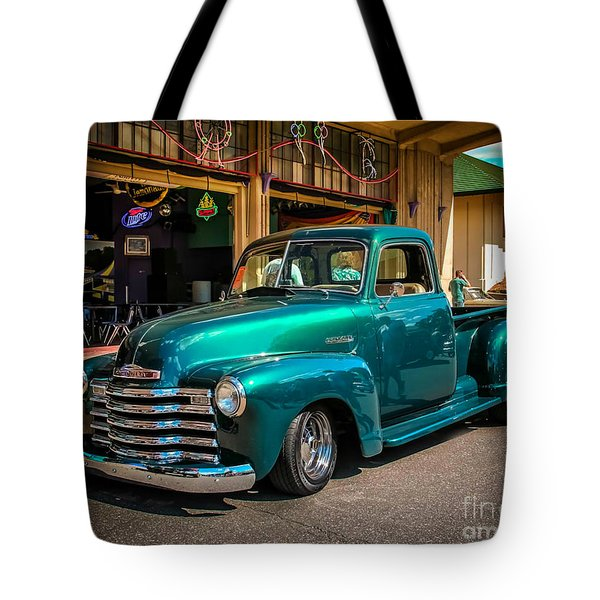 Green Dreams Tote Bag by Perry Webster