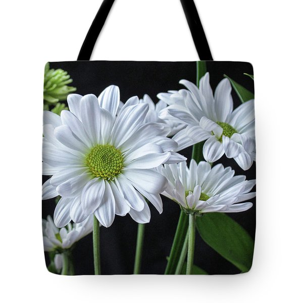 Tote Bag featuring the photograph Green Eyed Daisy by Bonnie Willis