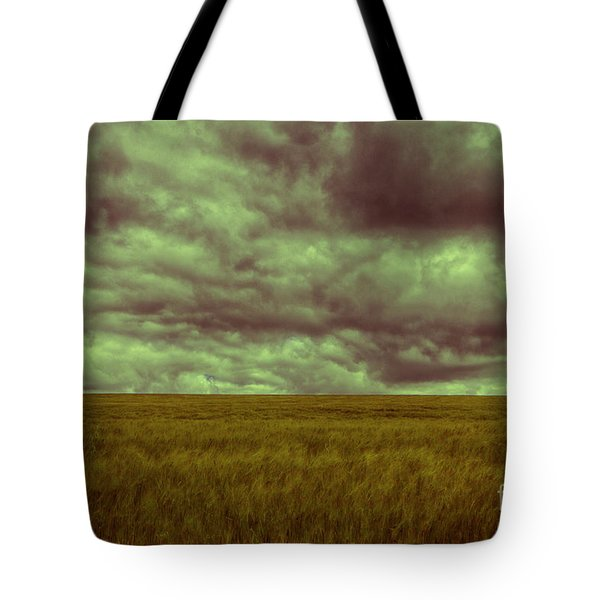 Tote Bag featuring the photograph Green Fields 3 by Douglas Barnard