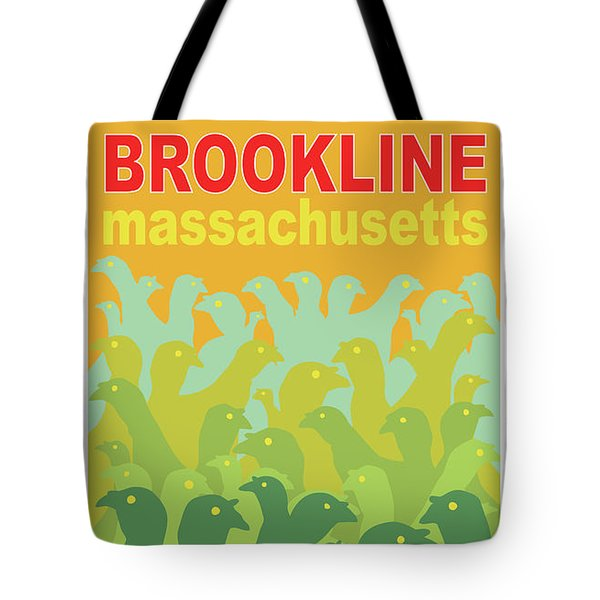 Green Fields Of Brookline Tote Bag