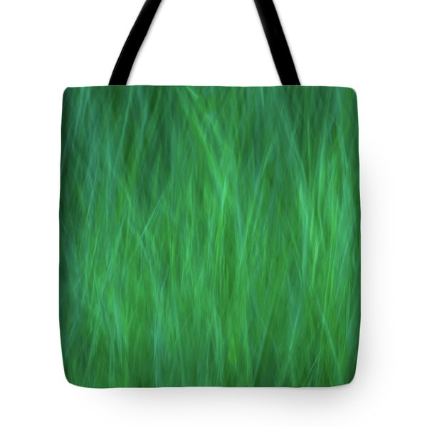 Green Fire 2 Tote Bag