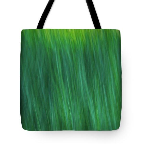 Green Fire 4 Tote Bag