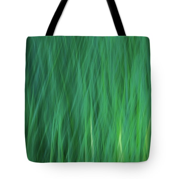 Green Fire 5 Tote Bag