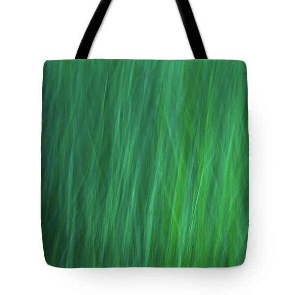 Green Fire 6 Tote Bag