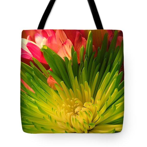 Green Focus Tote Bag
