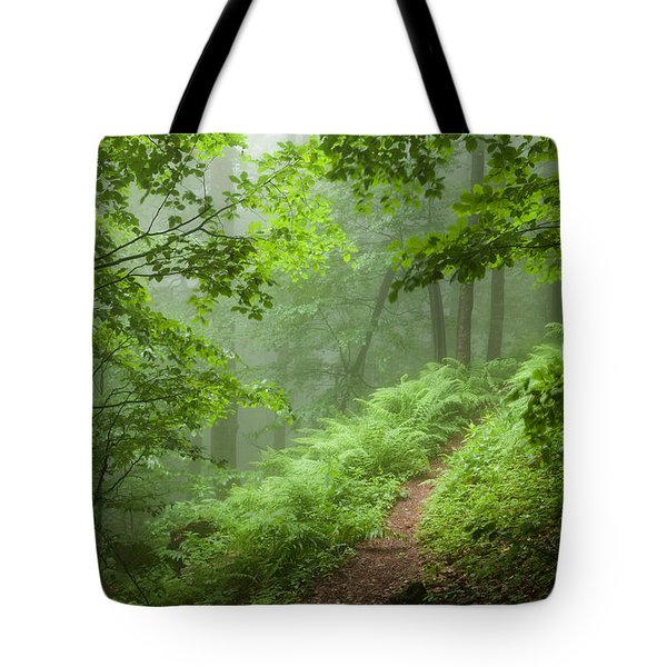 Green Forest Tote Bag by Evgeni Dinev