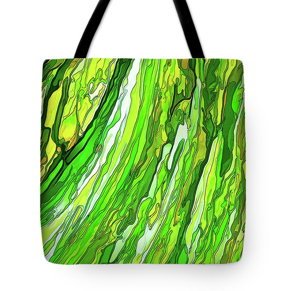 Green Garden Tote Bag by ABeautifulSky Photography