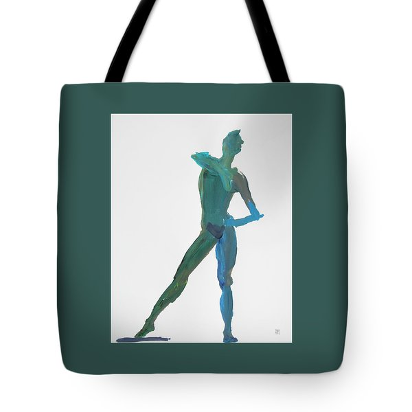 Green Gesture 2 Pointing Tote Bag