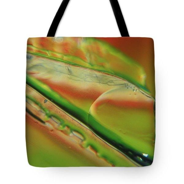 Green Glaze Tote Bag
