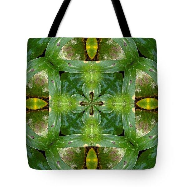 Green Glow Tote Bag
